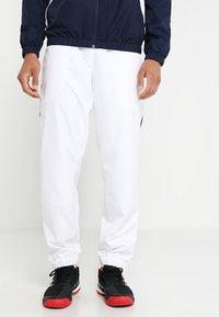 Lacoste Sport - TRACKSUIT - Träningsset - navy blue/white white - 3