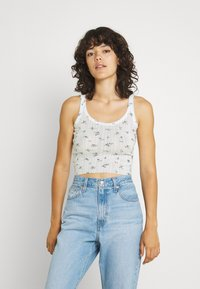 BDG Urban Outfitters - DITSY FLORAL TWIN SET - Cardigan - white - 4