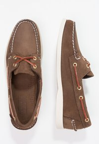 Sebago - DOCKSIDES - Seglarskor - dark brown - 1