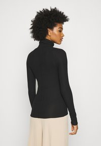 Weekday - CAROL TURTLENECK - T-shirt à manches longues - black - 2