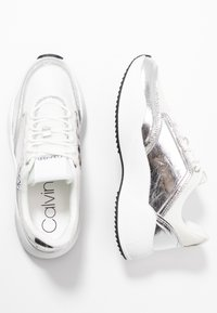 Calvin Klein - BRADIE - Trainers - silver - 3