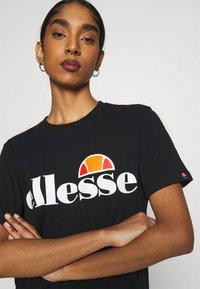 Ellesse - ALBANY - T-shirts print - black - 3