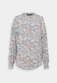 Soaked in Luxury - SLIDE BLOUSE - Button-down blouse - blue - 0