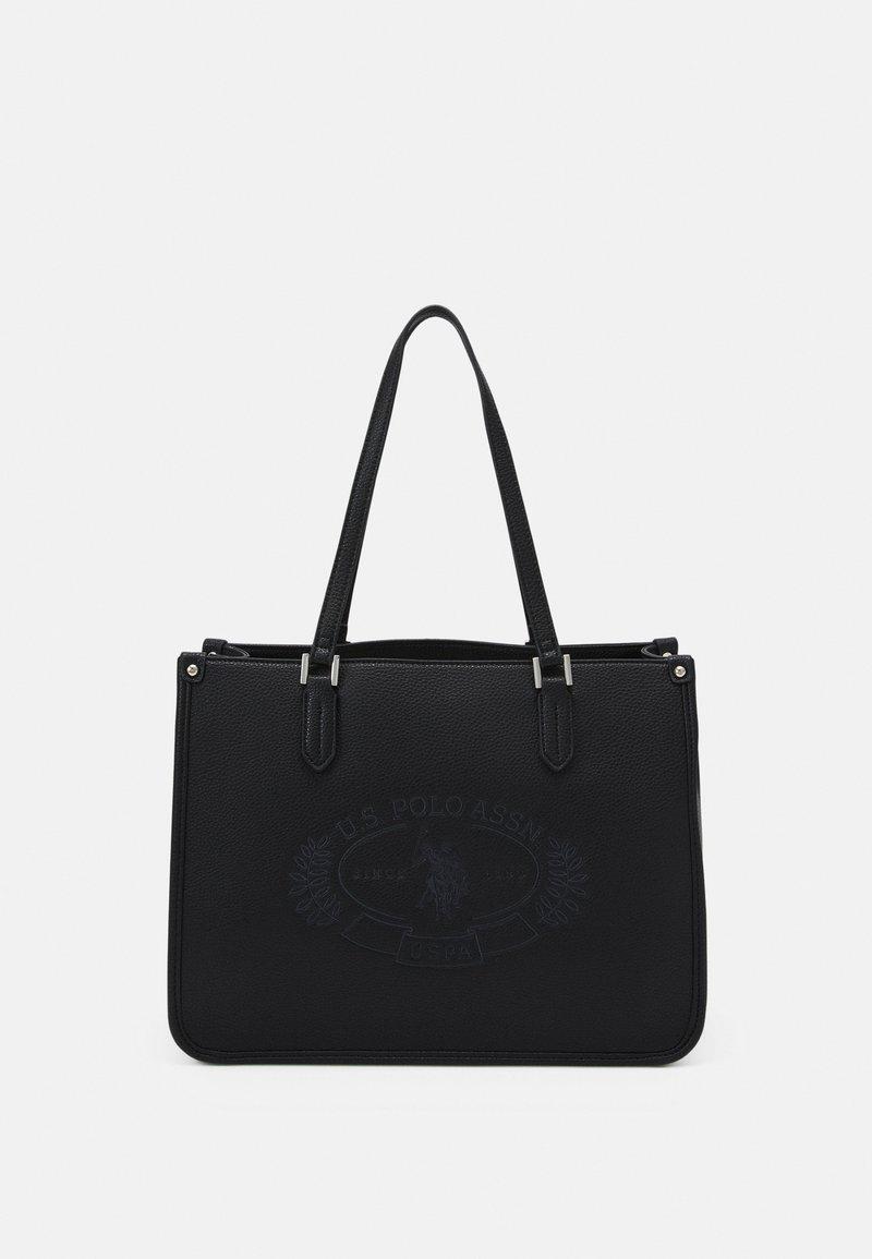 U.S. Polo Assn. - NEW HAILEY LARGE SHOPPING - Shopping bag - black