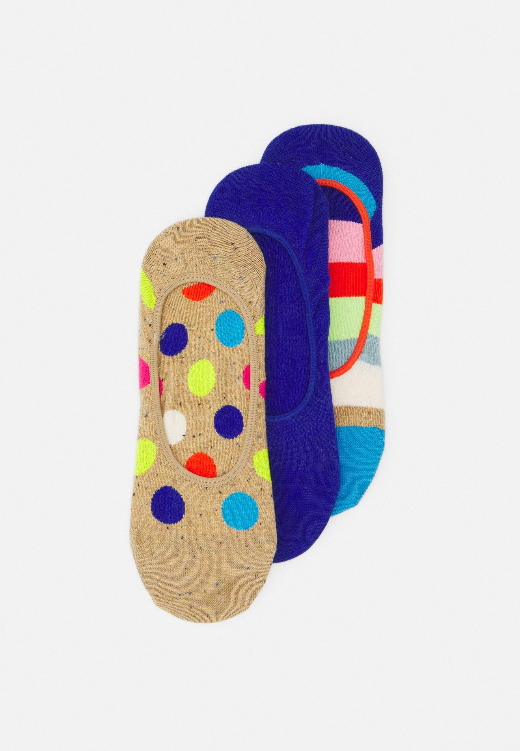 Women BIG DOT STRIPE 3 PACK UNISEX - Socks