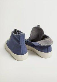 Mango - DALLASB - High-top trainers - blau - 3