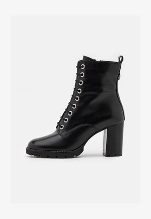 PASSO - Lace-up ankle boots - black