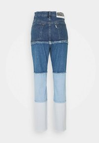 The Ragged Priest - OMBRE MOM - Straight leg jeans - indigo/mid/light blue/stonewash - 1
