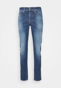 7 for all mankind - KIND TO THE PLANET - Džíny Slim Fit - mid blue - 0