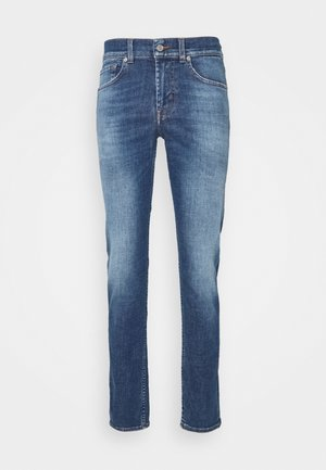 KIND TO THE PLANET - Slim fit jeans - mid blue