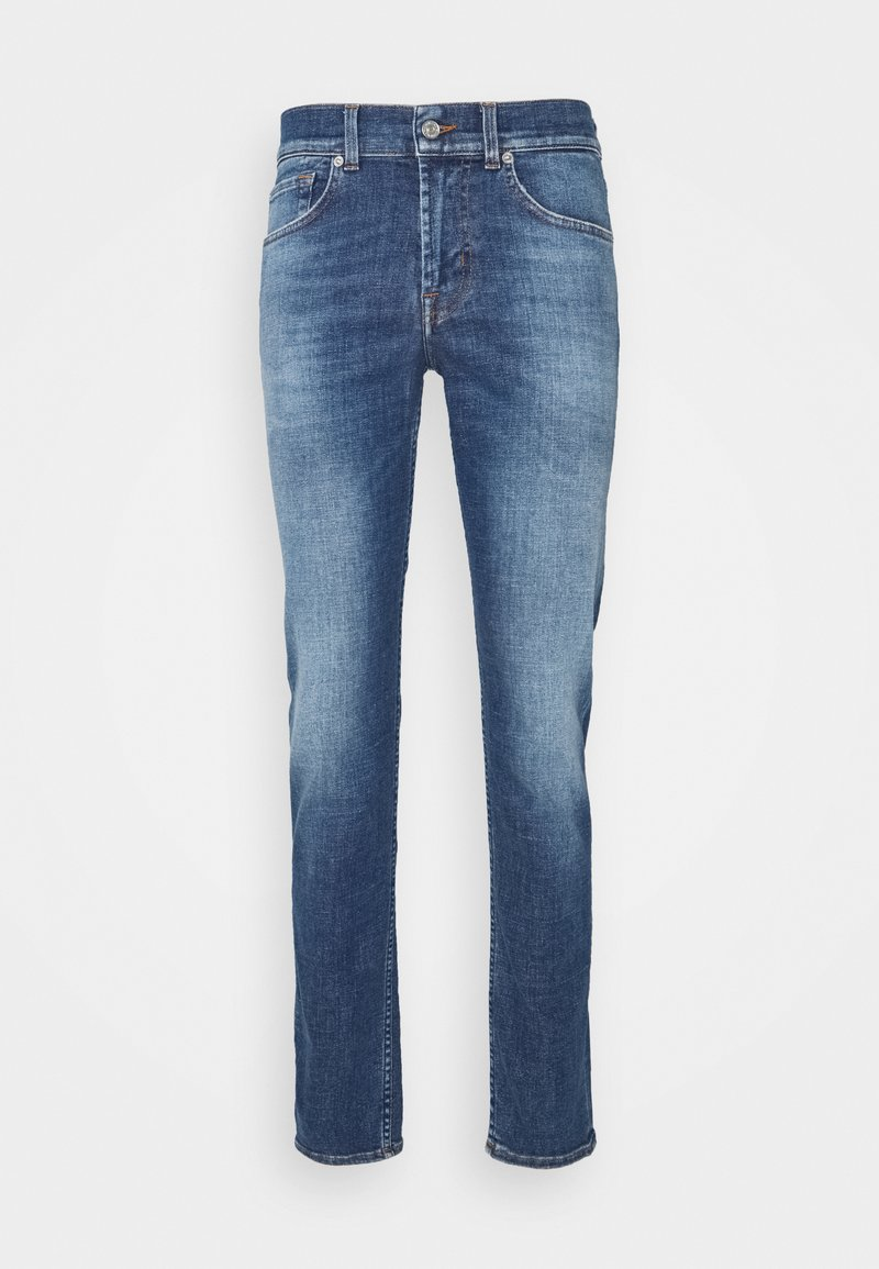 7 for all mankind - KIND TO THE PLANET - Džíny Slim Fit - mid blue
