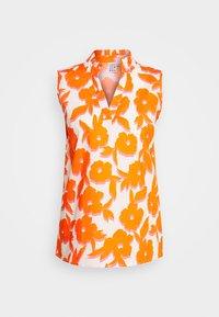 Emily van den Bergh - BLOUSE - Bluser - white/orange - 3