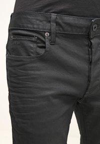G-Star - 3301 STRAIGHT - Jean droit - black pintt stretch denim - 3
