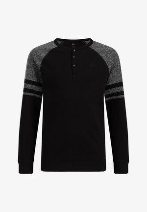 JONGENS MET COLOURBLOCK - T-shirts print - black