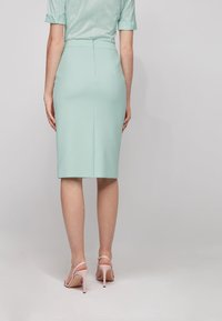 BOSS - VINOA - Pencil skirt - turquoise