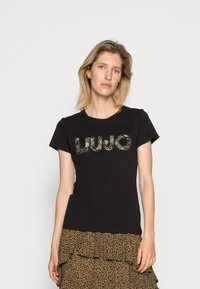 Liu Jo Jeans - MODA  - T-shirt print - army green - 0