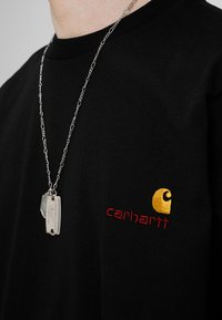 Carhartt WIP - AMERICAN SCRIPT  - Basic T-shirt - black - 4