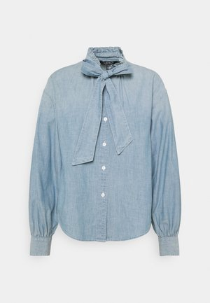 PROSPERITY CHAMBRAY SHIRT - Button-down blouse - lepore wash