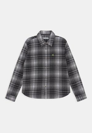 CHECKED - Shirt - black/white