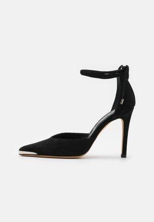 MIFAL - Lodičky na vysokém podpatku - black