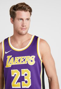 Nike Performance - NBA LA LAKERS LEBRON JAMES SWINGMAN - Klubbkläder - purple - 3