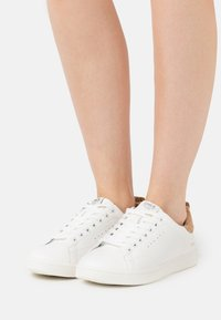 ONLY SHOES - ONLSHILO ANIMAL - Sneakers laag - white - 0