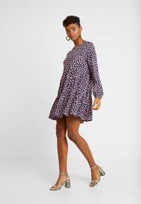 Monki - TACY DRESS - Day dress - dark blue - 2