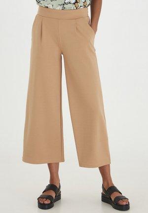 IHKATE WIDE - Pantaloni - tan