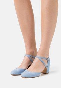 Anna Field - COMFORT - Classic heels - light blue - 0