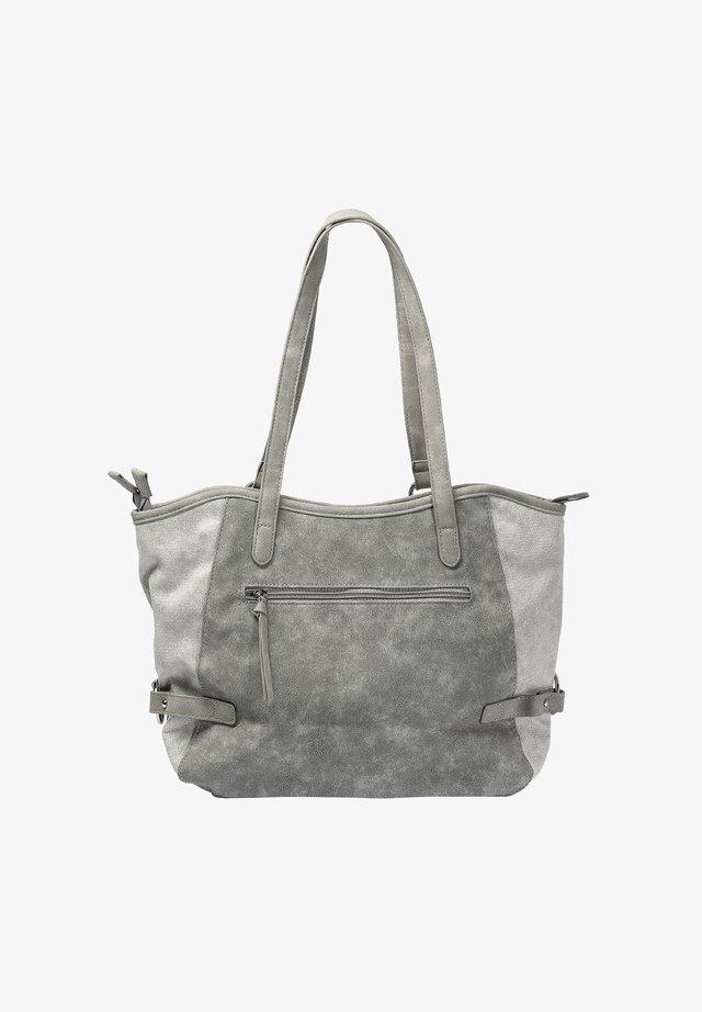 Handtas - white silver-cement-pearl-grey