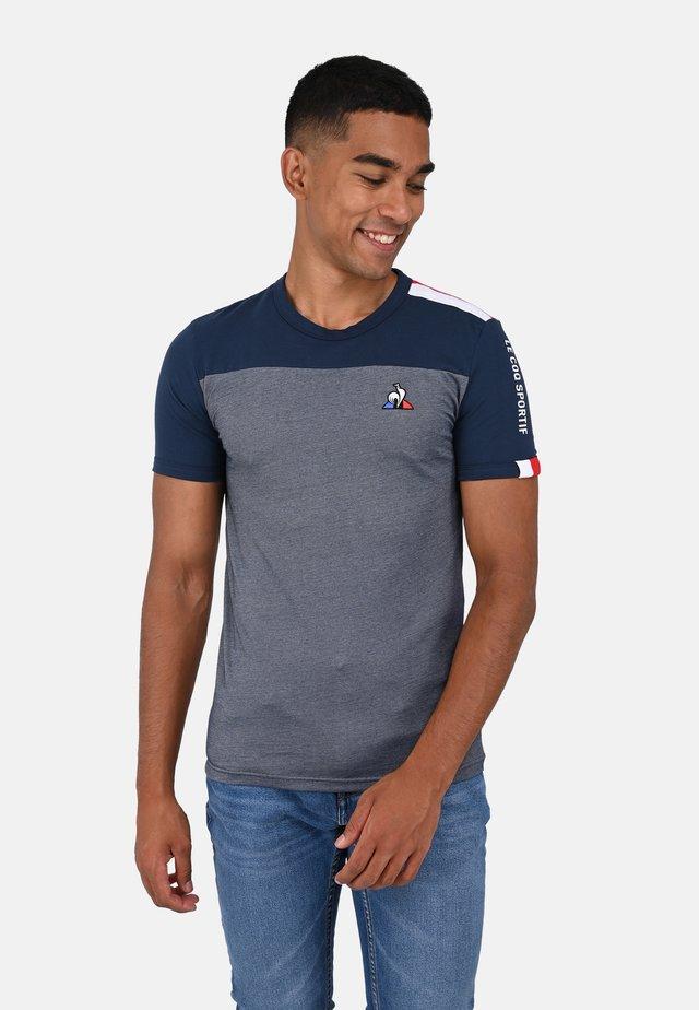 SAISON  - T-shirt print - blue