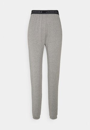 SLIM WITH LOGO WAIST - Pyjama bottoms - grey