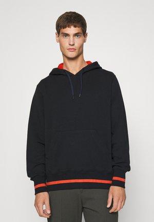 HOODY HAPPY UNISEX - Sweatshirt - black/orange