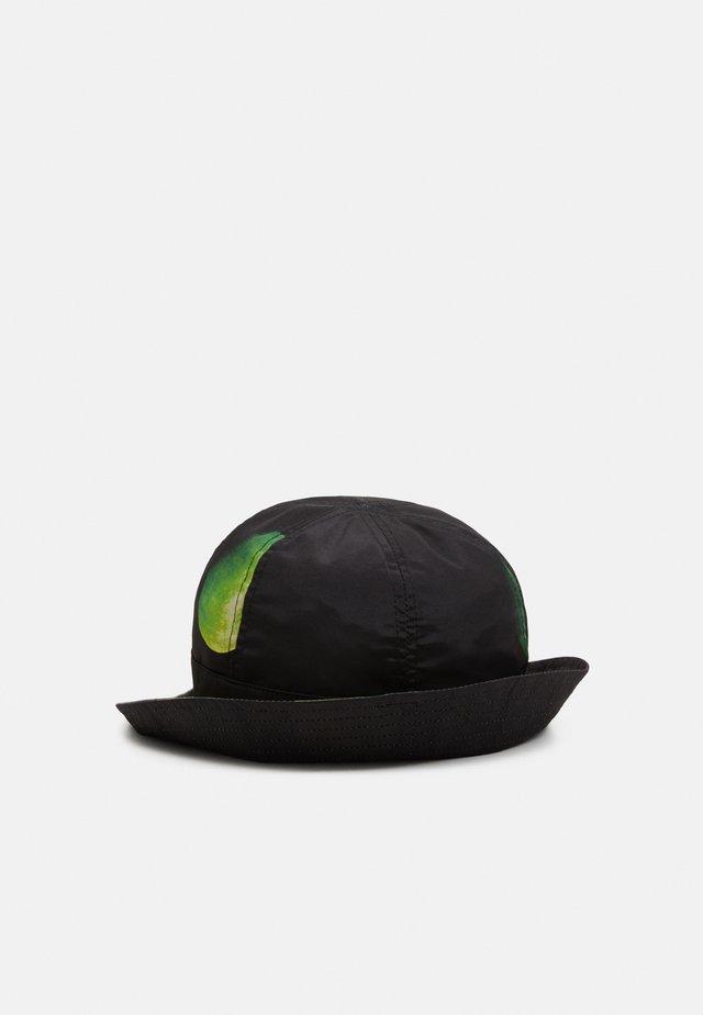 BUCKET HAT APPLE - Sombrero - black