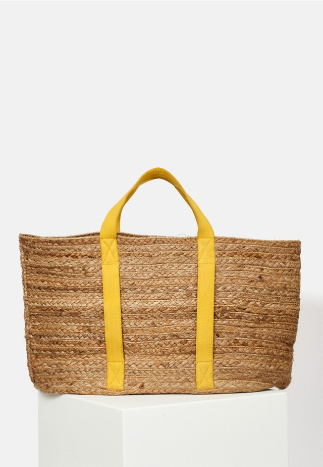 Tote bag - yellow gold