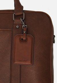 ALDO - PANDORO - Briefcase - cognac - 3