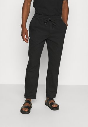CASUAL TROUSERS - Trousers - black