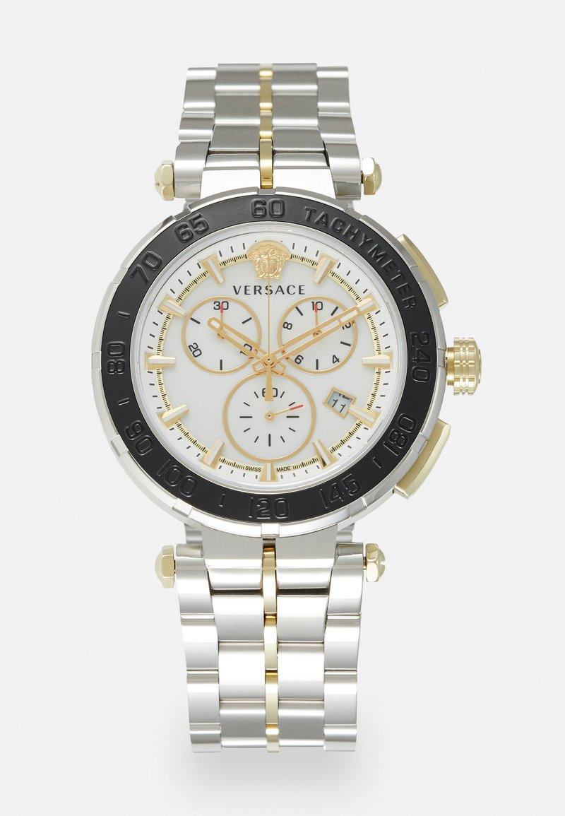 Versace Watches - GRECA - Cronógrafo - silver-coloured
