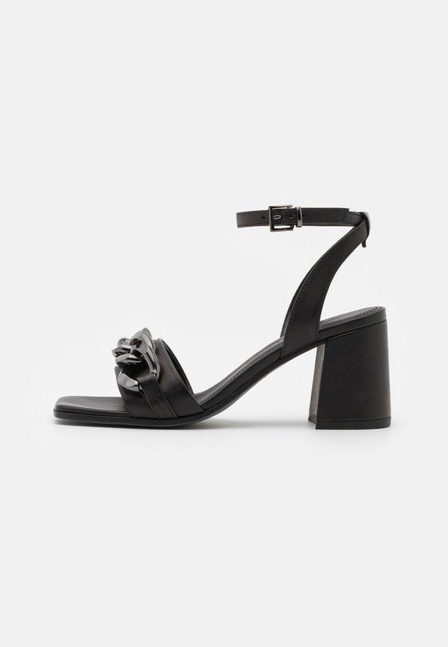 LOU - Sandalen - schwarz