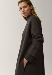 Massimo Dutti - Classic coat - black - 4