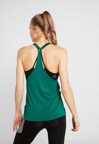 Reebok - TANK - Sports shirt - clover green - 2