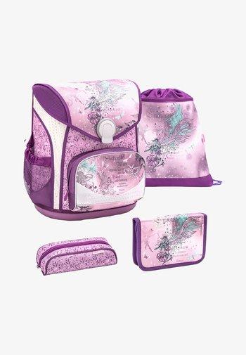 SET 4 TEILIG - School set - purple