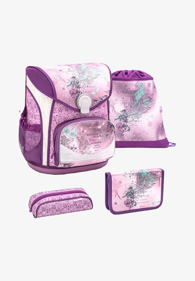 SET 4 TEILIG - School set - purple