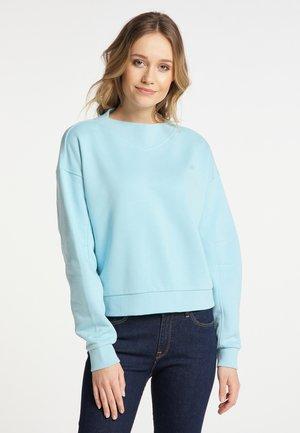 Sweatshirt - helltürkis