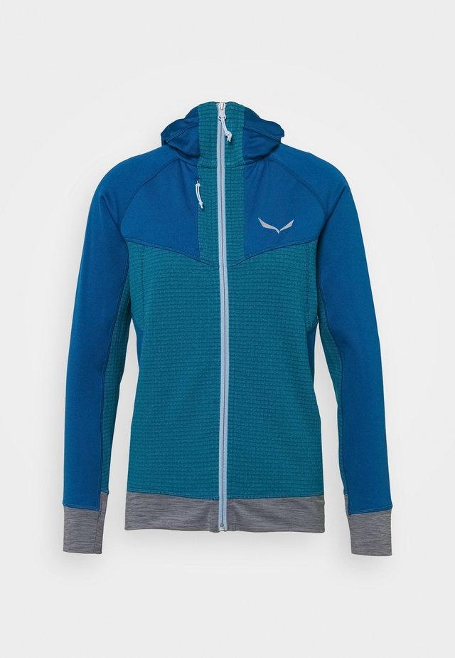 PEDROC - Fleece jacket - blue sapphire