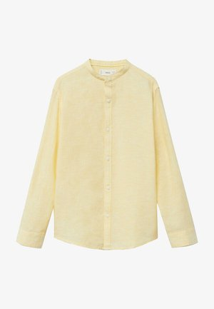 Overhemd - pastelgeel