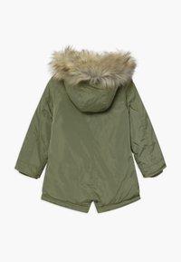 Lemon Beret - SMALL GIRLS - Winter coat - deep lichen green - 1