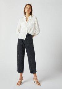PULL&BEAR - Camicia - white - 1