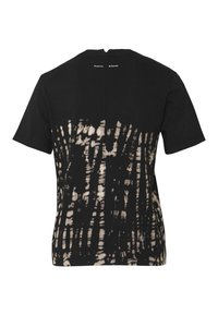 Proenza Schouler White Label - TIE DYE CLASSIC TEE - T-shirt con stampa - black perl - 1