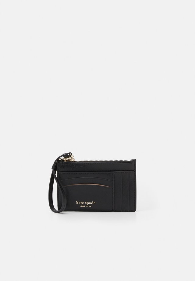 CARD CASE WRISTLET - Plånbok - black